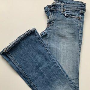 Seven Jeans Medium Wash Flared